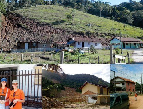 Mapeamento de áreas de risco em diversos estados brasileiros