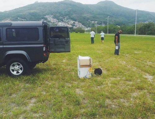 GeoEnvi inicia testes geofísicos com Sismógrafo