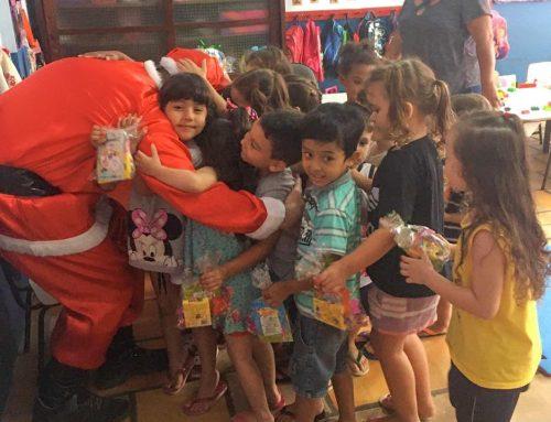 Equipe GeoEnvi realiza ação de Natal na CVM – Vinde a Mim as Criancinhas