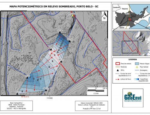Estudo Geofísico-Hidrogeológico para Determinação do Sentido do Fluxo de Água Subsuperficial e Subterrânea