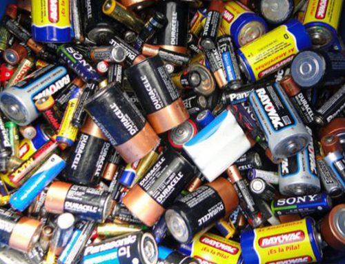 Sobre o descarte correto para pilhas e baterias
